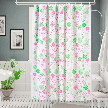 Art 17.2 - Cortina Doble  Basic Floral